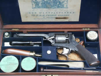 A FINE CASED 54 BORE TRANTER RETAILED BY WILLIAM MOORE & WILLIAM GREY