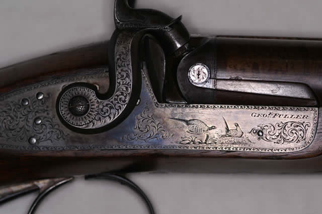 10 Bore Percussion Shotgun By George Fuller