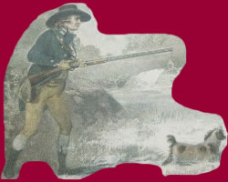 Man With Gun & Dog